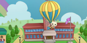 Hra - Cat Balloon Delivery