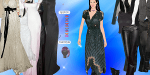 Angelina Jolie Dressup