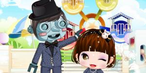 Hra - Girl & Robot 3