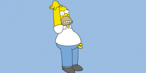 Crazy Homer Simpson