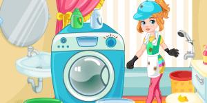 Hra - Clumsy Gardener Laundry