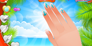 Hra - Nail Studio Beach Design