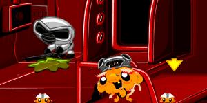 Hra - Monkey GO Happy Sci-fi