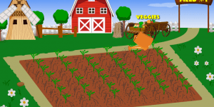 Hra - Vegetable Farm 2