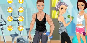 Justin at Gym