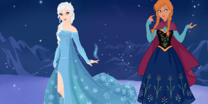 Hra - Snow Queen Scene Maker