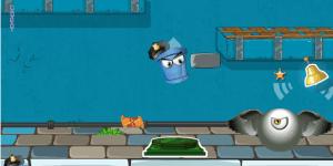 Hra - Bucket Cop