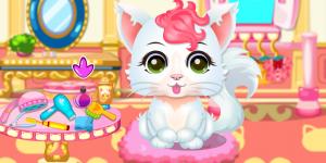 Hra - Baby Kitty Salon