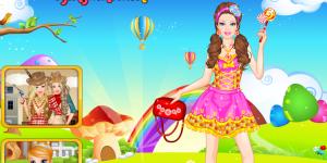 Barbie Lollipop Princess Dress Up