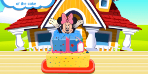 Hra - Minnie Mouse Surprise Cake