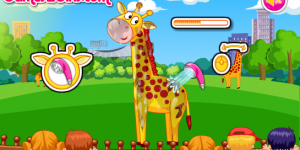 Hra - Cute Giraffe Care
