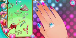 Nail Studio Polka Dot Design
