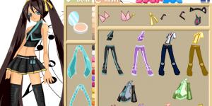 Miku Hatsune Dress Up
