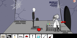 Hra - Slender Man Saw Game