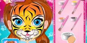 Baby Anna Face Art