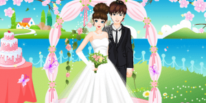 Romantic Wedding Dress Up