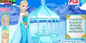 Hra - Elsa's Ice Bucket Challenge