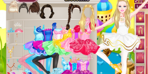 Barbie Ballerina Dress Up