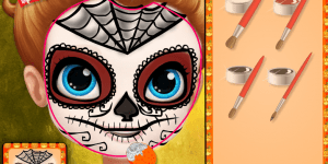 Hra - Sofia Halloween Face Art