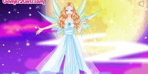 Beautiful Fairy Of Moon