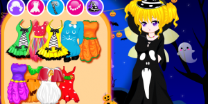 Hra - Lovely Halloween Girl