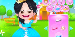 Hra - Baby Hazel Princess Dressup