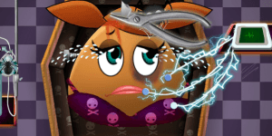 Hra - Pou Girl Halloween Emergency
