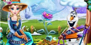 Hra - Elsa Ice Flower