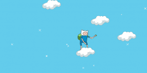 Adventure Time Finn Up