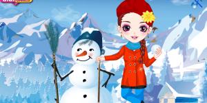 Make A Happy Snowman