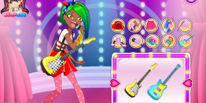 LoliRock-Talia Dress Up Game