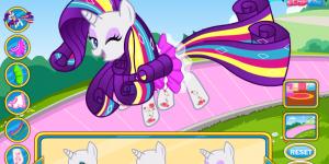 My Little Pony Rarity Rainbow Power Style