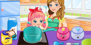Hra - Baby Alice Mommy And Me Cooking