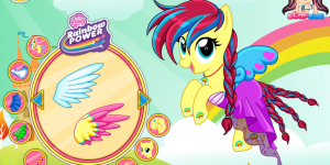 Fluttershy My Little Pony  Rainbow Power Style