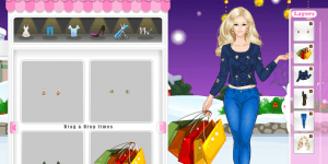 Barbie Christmas Shopping