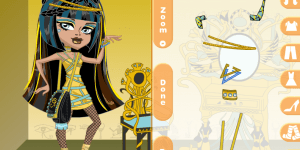 Monster High Chibi Cleo de Nile Dress Up