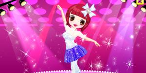 Cute Ballerina Dress Up