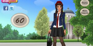 Private School Girl