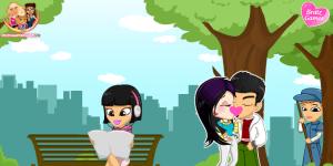 Hra - Bratz Kissing 3
