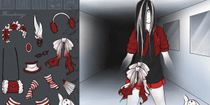 Create And Dress Up Ghost Game