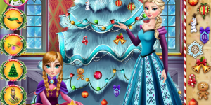 Hra - Frozen Perfect Christmas Tree