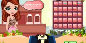 Hra - Birthday Cakes: Panda Bear Cake