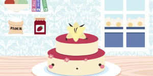 Hra - Kawaii Wedding Cake