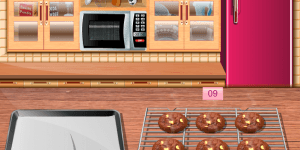 Sara's Cooking Class Cholocate Cookies