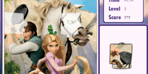 Hra - Tangled Puzzle Book