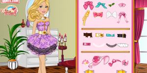 Hra - Barbie Valentine Dress Design