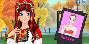 Russian Girl Make Up