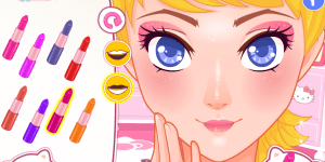 Hra - Design Your Hello Kitty Make-up
