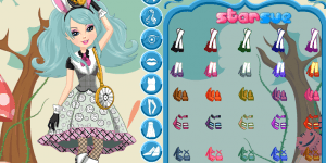 Ever After High Bunny Blanc Dress Up