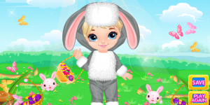 Hra - Easter Baby Dress Up